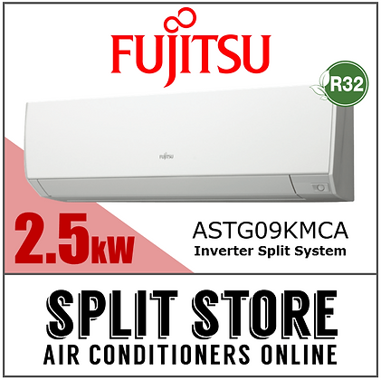 Fujitsu - 2.5kW Split System (Lifestyle Range)