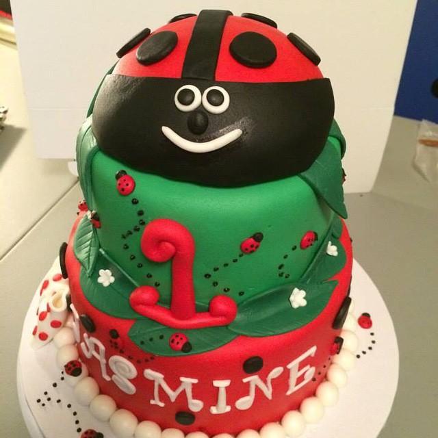 Instagram - #ladybug theme cake