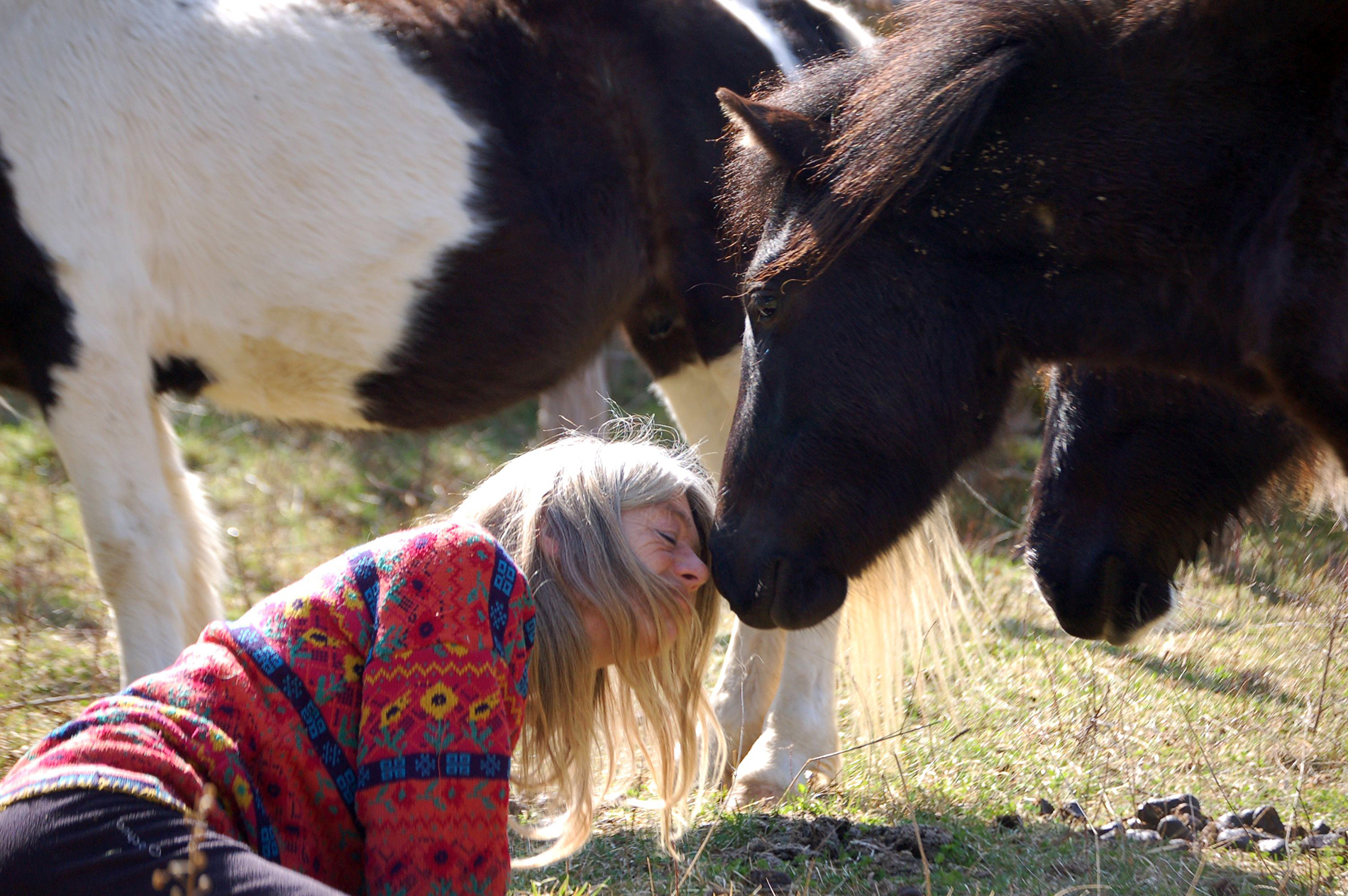 Lucy Rees with Horses