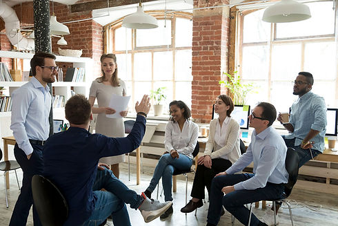 Organizational engagement. Business thri