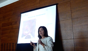 Tibisay delivering annual conference