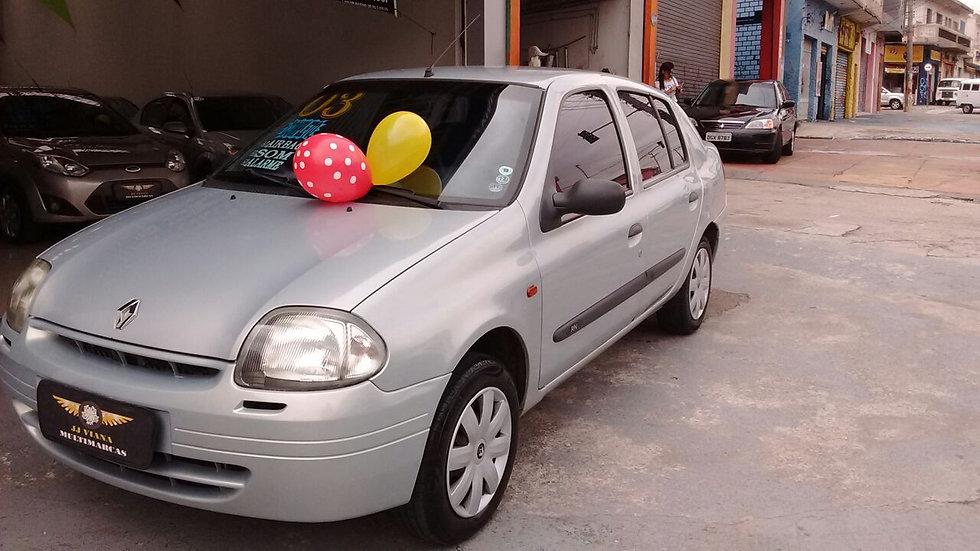 Renault Clio Sedan RN 1.0 16v Completo  2003