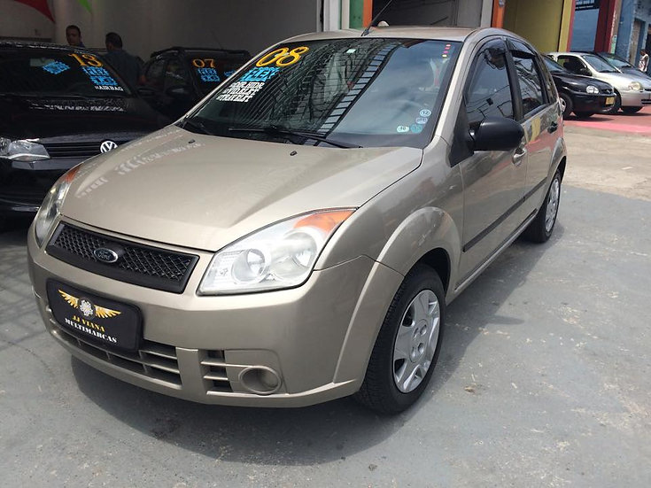 Ford Fiesta 1.0 Flex 2008 - Completo Menos Ar