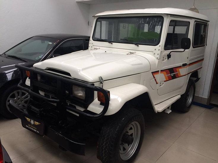 Toyota Bandeirante Jipe - Curto  4x4 - Ano 1990