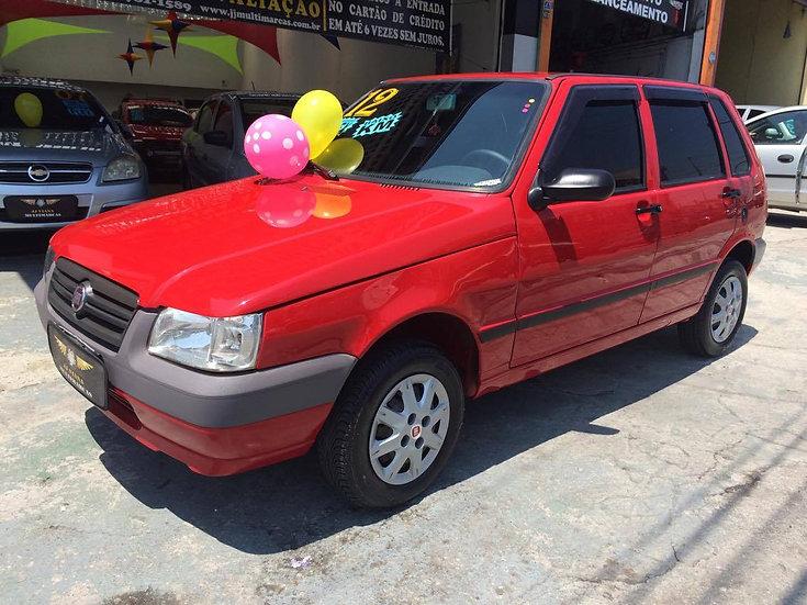 Fiat - Uno Mille Economy - Baixa KM - 2012