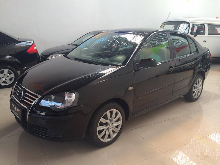 Vw - Volkswagen Polo Sedan 1.6 8v Completo 2007