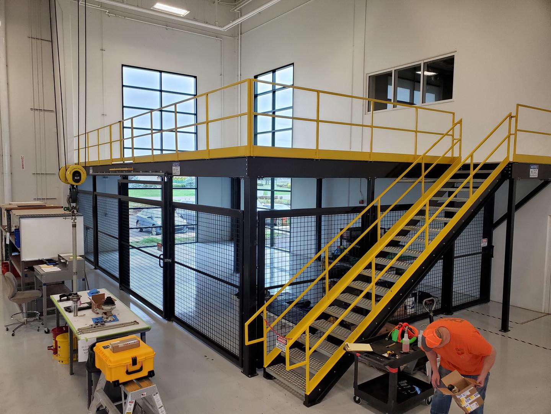 #44 Mezzanine & Parts cage 1.jpg