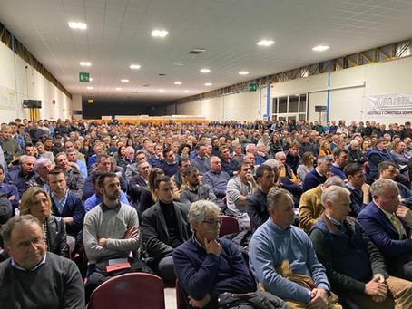 """Oltre mille partecipanti al convegno """"Quali prospettive per il sistema Prosecco e Pinot grigio"""""""