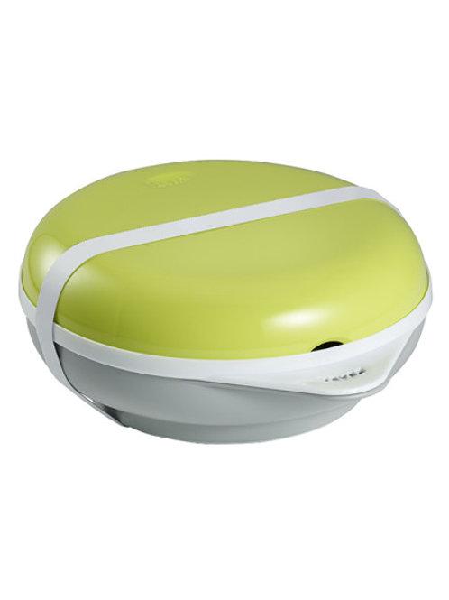 Beaba Bento Box Ellipse Термо посуда: тарелка+крышка, вилка+ложка Neon