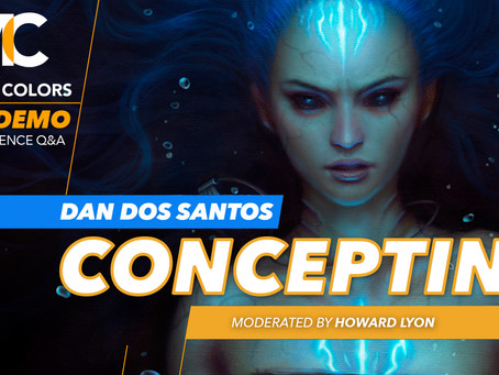 Video Review: Concepting with Dan Dos Santos (Muddy Colors)
