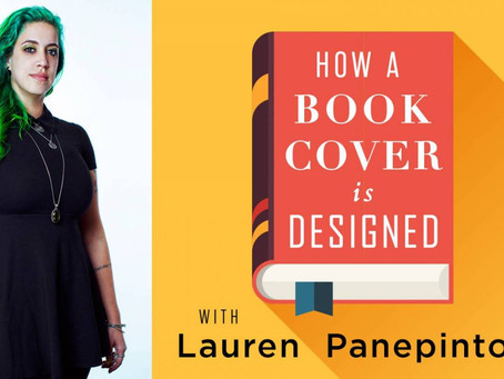 Video Review: How a Book Cover is Designed with Lauren Panepinto (Muddy Colors)