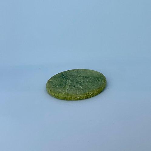 Adhesive jade stone