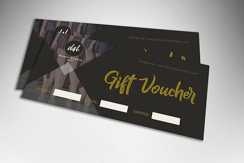 DSL Dance Class and Dancewear Gift Voucher