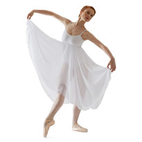 Capezio-Camisole-Lyrical-Dress-BG001-WHI