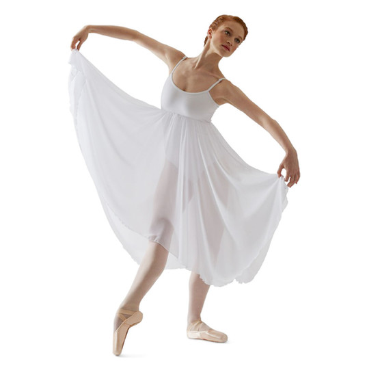 Capezio-Camisole-Lyrical-Dress-BG001-WHI