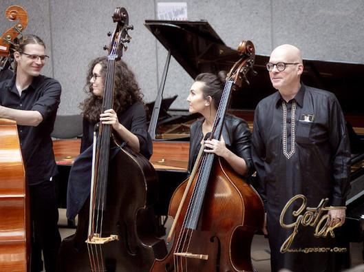 Jernej Budin, Claudia Trigueros, Lorena Martín Alarcón, Andreas Woyke