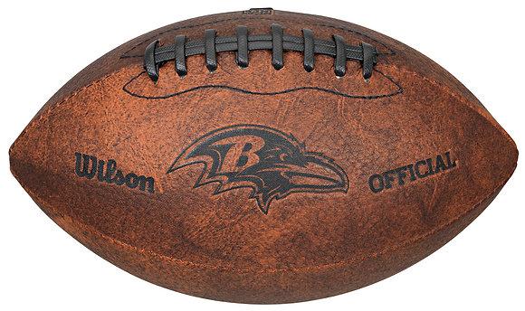 """Baltimore Ravens 11"""" Throwback Football"""
