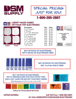 Special Electrode Pricing 06.29