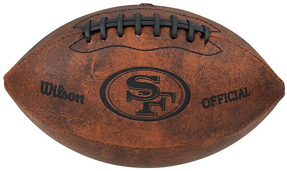"San Francisco 49ers 11"" Throwback Football"