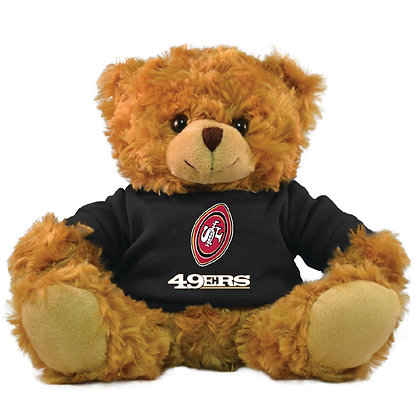 "San Francisco 49ers 9"" Rally Men Bear"