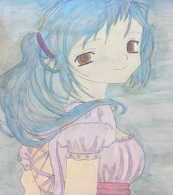 Watercolor - Anime Girl