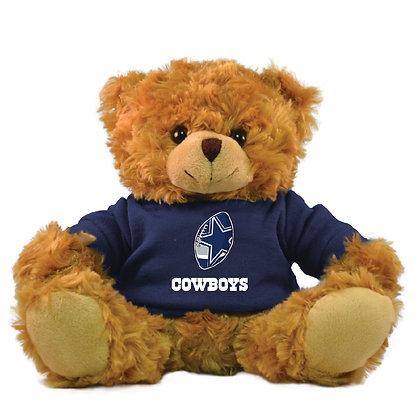 "Dallas Cowboys 9"" Hoodie Rally Bear"