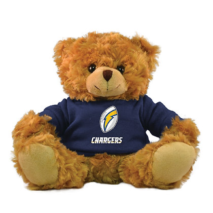 "Los Angeles Chargers 9"" Hoodie Rally Bear"