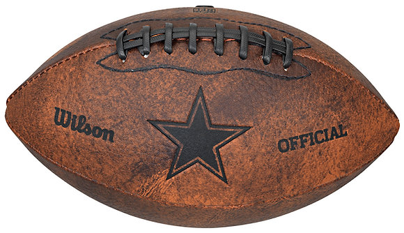 "Dallas Cowboys 11"" Throwback Football"