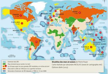 La mer : géopolitique de l'espace maritime