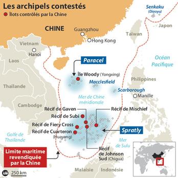 """Mer de Chine : nouvel enjeu """"thalassopolitique"""" ou énième conflit de puissance?"""