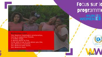 """Women's Week 2021 : Le """"NiNa Young Women's Leadership Programme"""", porteur d'avenirs au féminin"""
