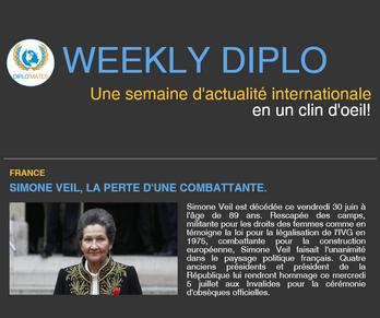 Weekly Diplo #61 (26 juin au 2 juillet 2017)