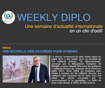 Weekly Diplo #62 (du 03 au 09 juillet 2017)