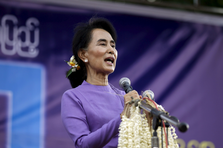 Aung San Suu Kyi au Parlement