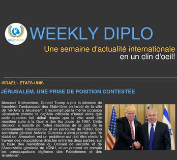 Weekly Diplo #84 (4 - 10 décembre 2017)
