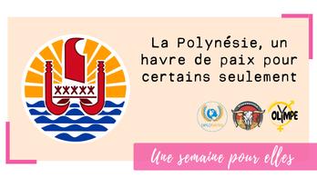 La Polynésie, un havre de paix pour certains seulement