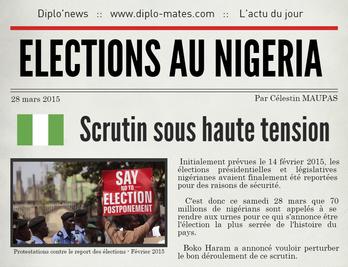 Infographie - Elections sous haute tension au Nigéria