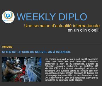 Weekly Diplo #36 (2 - 8 janvier 2017)