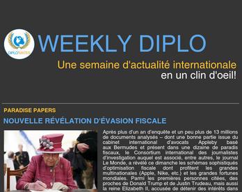 Weekly Diplo #79 (30 octobre - 5 novembre 2017)