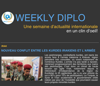 Weekly Diplo #76 (9 - 15 octobre 2017)