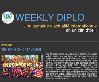 Weekly Diplo #75 (2 - 8 octobre 2017)