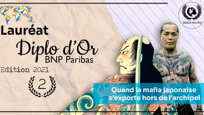 2e prix du Diplo d'Or: Clara Souvy - Quand la mafia japonaise s'exporte hors de l'archipel