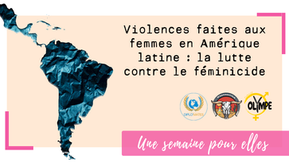 En Amérique latine, la lutte contre la violence faite aux femmes s'est cristallisée autour du fémini