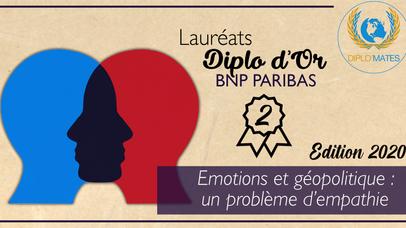 Émotions et géopolitique : un problème d'empathie