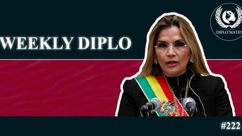 Weekly Diplo #222 semaine du 08/03 au 14/03