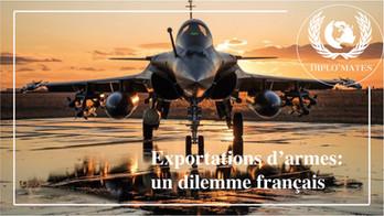 Exportation d'armes: un dilemme français
