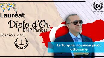 1er prix du Diplo d'Or: Adelin Fort - La Turquie, nouveau pivot ottonome
