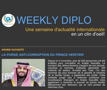 Weekly Diplo #80 (6 - 12 novembre 2017)