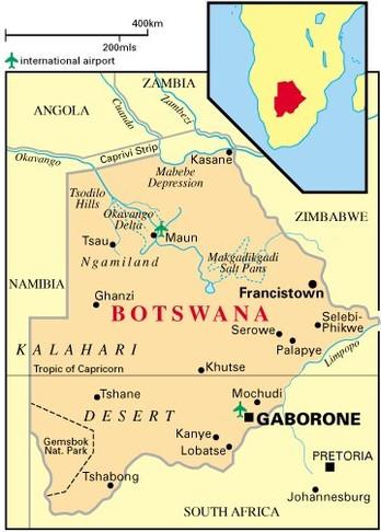 Botswana : les dividendes de la vertu.