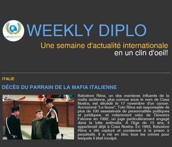 Weekly Diplo #81 (13 - 19 novembre 2017)